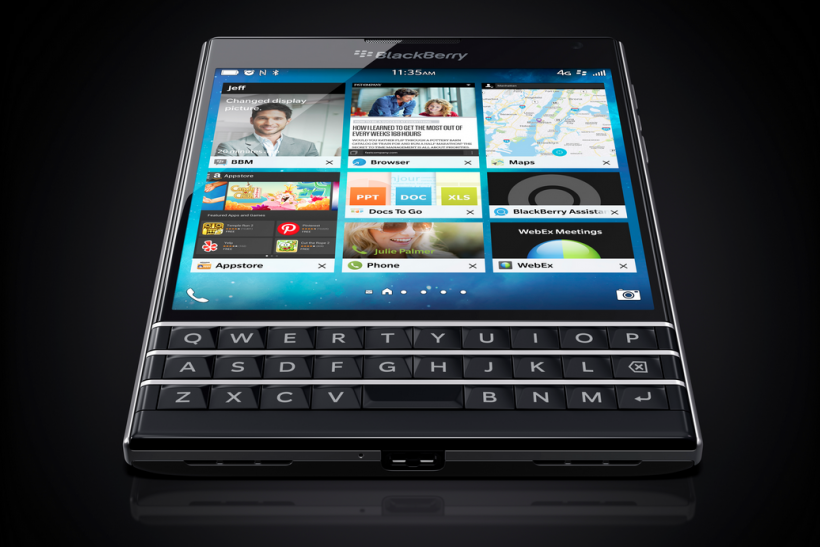 passport blackberry ltd bbry