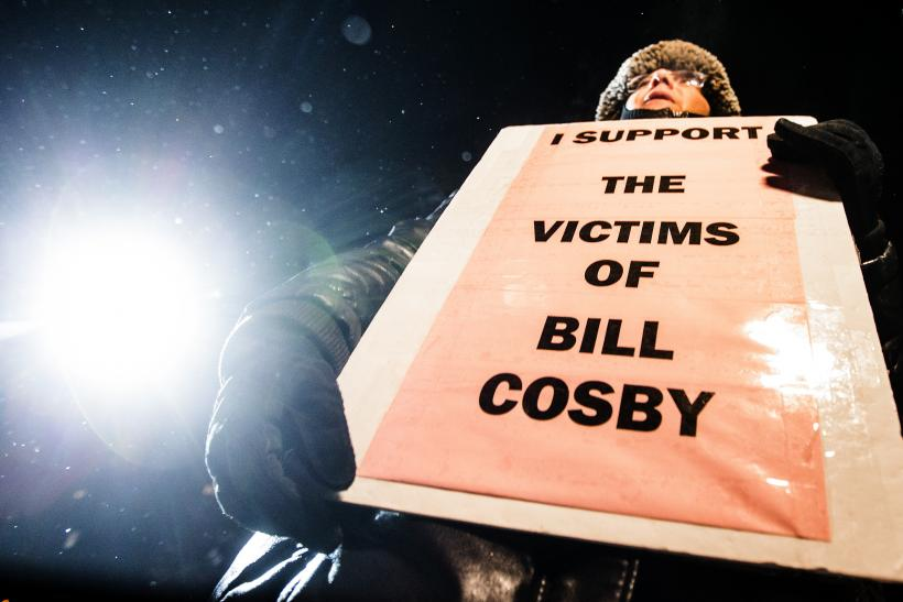 Bill Cosby protests