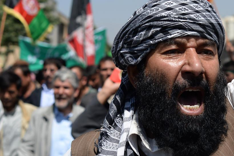 Afghanistan rally praises Charlie Hebdo attackers