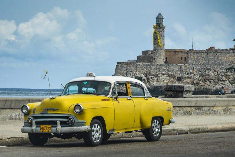 A Yellow Ribbon Is Seen In El Morro Of Havana As Part Campaign For The Freedom Cuban 5 On September 12 2017 Cuba Has Waged Long