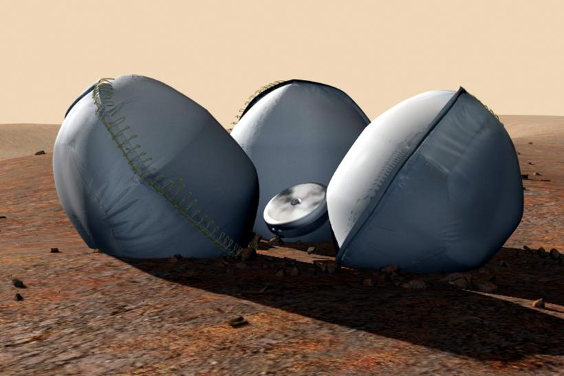 Beagle 2 lander craft