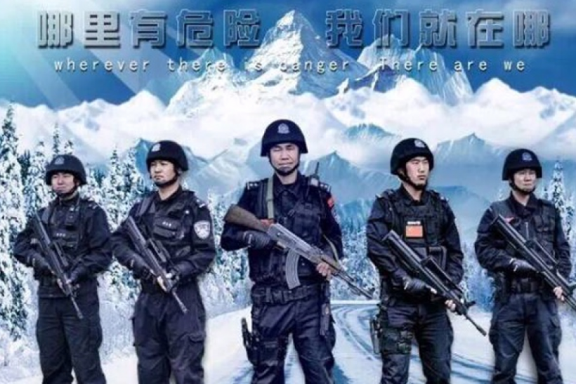 China Police Force Mocked For Action Movie-Style Posters