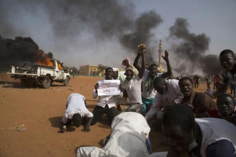 Niger protests