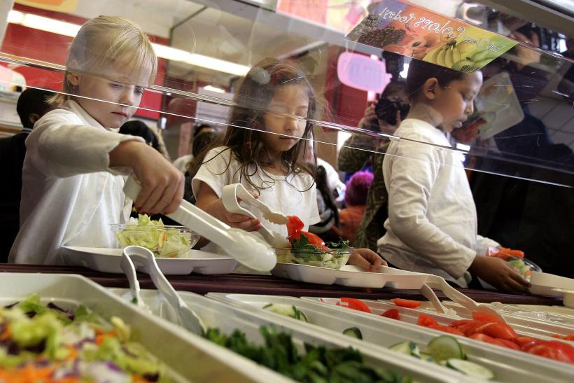 US poverty public school lunches