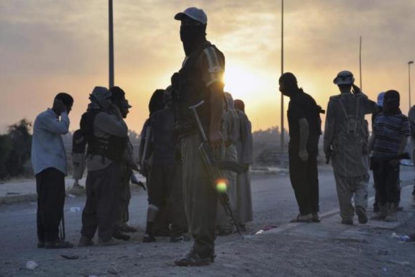 ISIS fighters in Mosul, Iraq