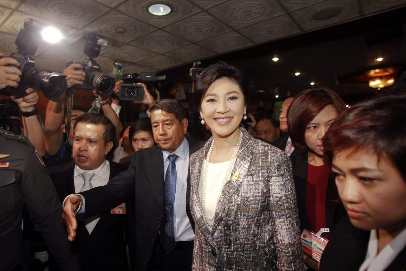 Ousted Thai former Prime Minister Yingluck Shinawatra
