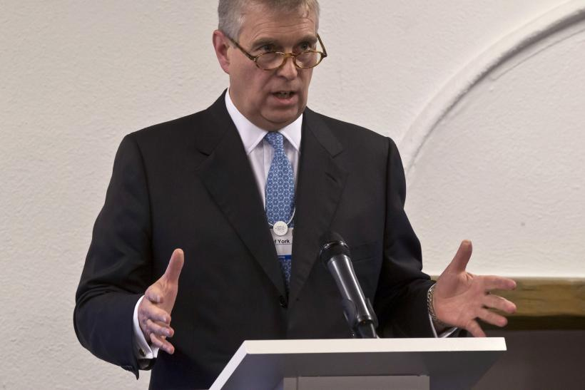 Prince Andrew denies sex allegations