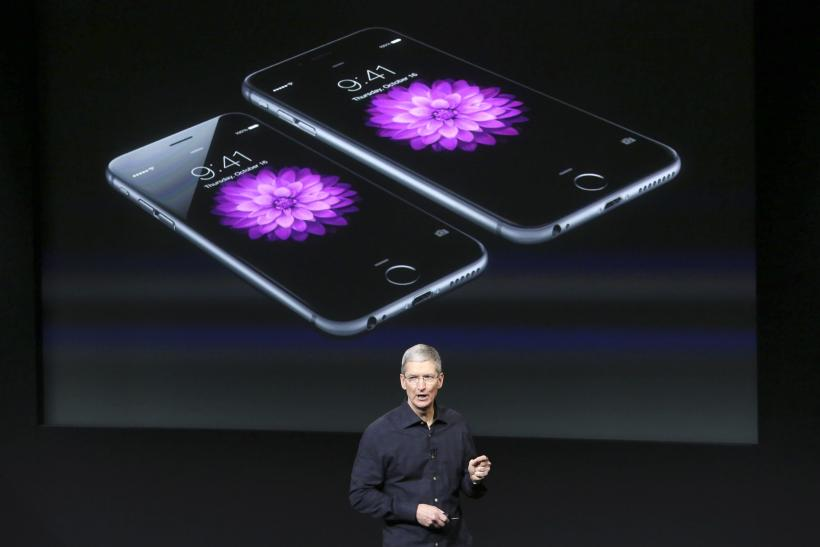 Tim Cook Apple iPhone 6