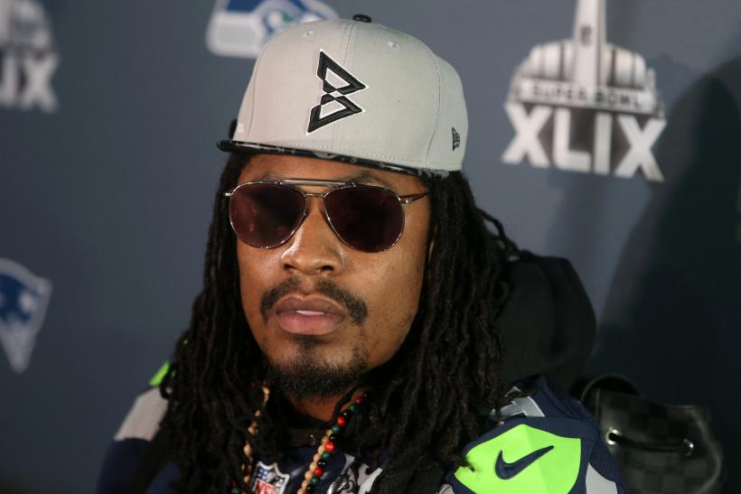 Marshawn Lynch Seahawks 2015