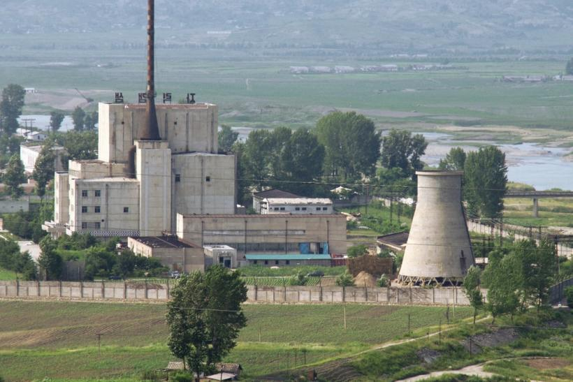 Nuclear plant in Yongbyon, North Korea