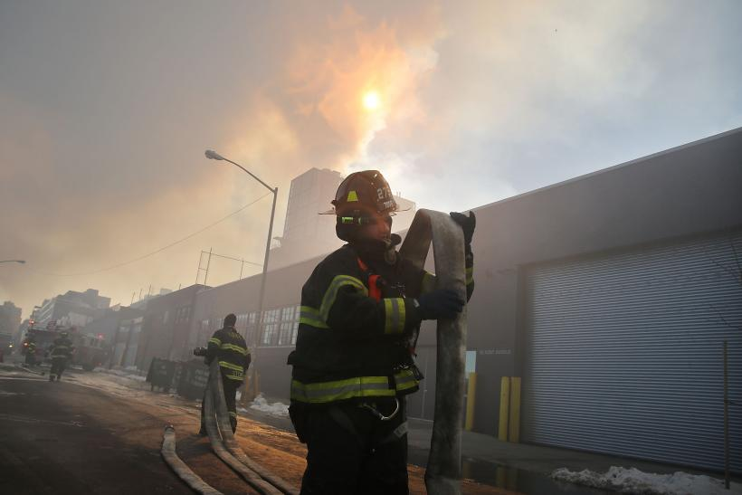 Brooklyn Warehouse Fire