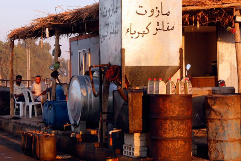 Islamic State selling oil