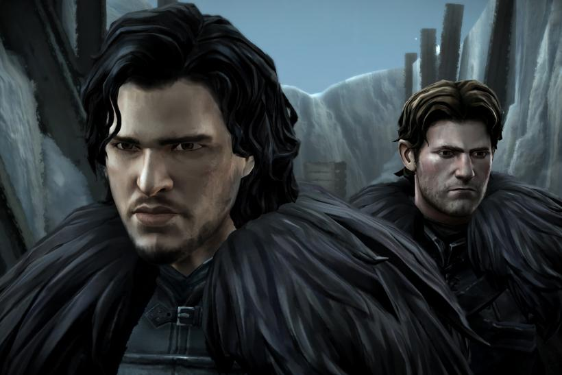 Telltale Game of Thrones Jon Snow & Gared Tuttle