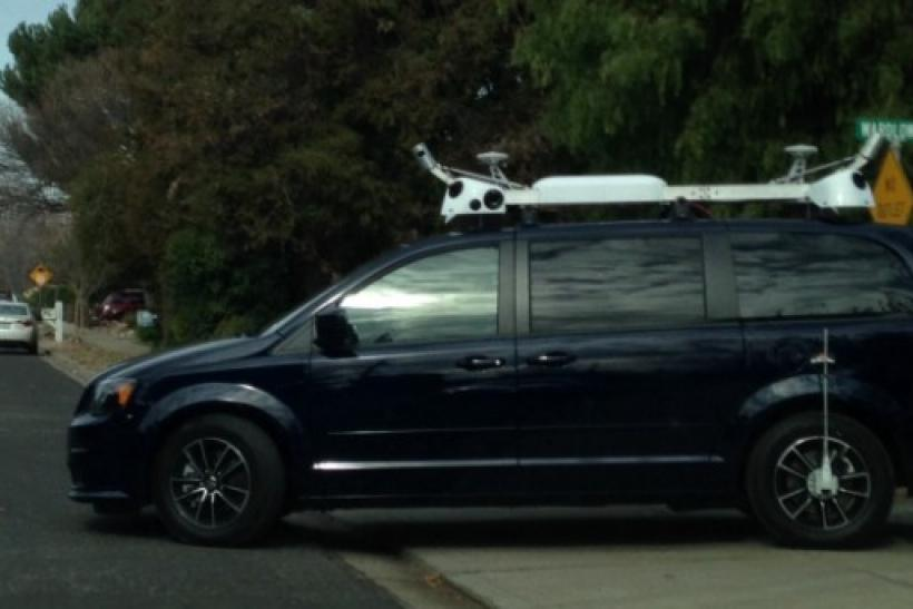Apple Tests Camera-Equipped Car, Reports Claim It's Self-Driving Or on google maps shotgun, google maps fast food, google maps helicopter, google maps blood, google maps airport, google maps construction, google maps racing, google maps crime scene, google maps pizza, google maps walking, google maps cat, google maps bus, google maps boat, google maps fire, google maps fight, google maps driver, google maps police, google maps flashing, google maps english, google maps transport,