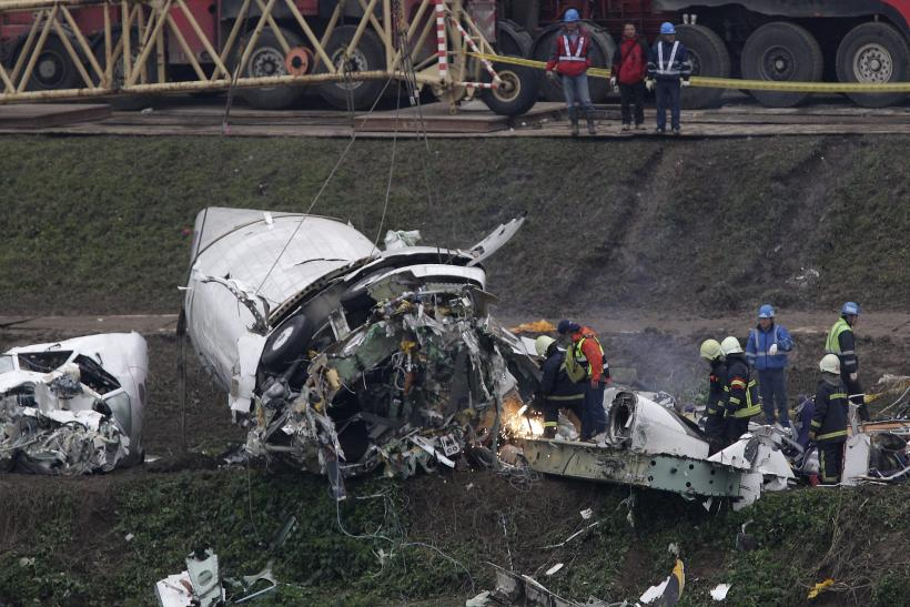 Rescue operations TransAsia flight