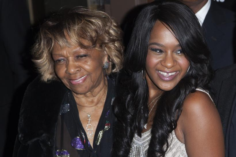 Cissy Houston and Bobbi Kristina Brown