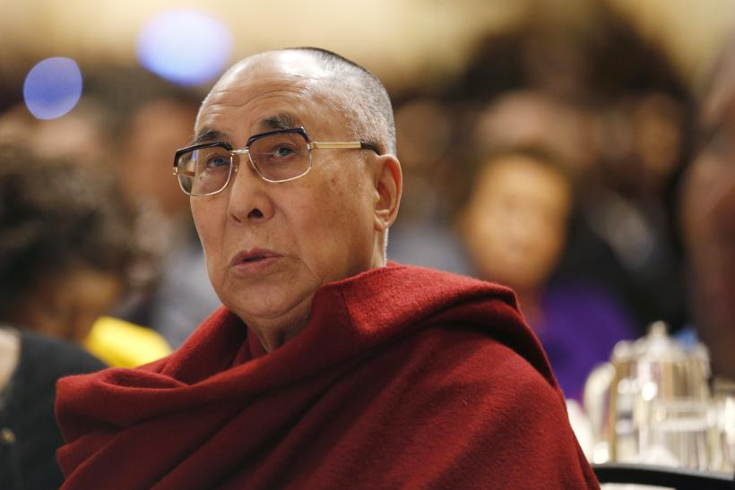 The Dalai Lama at the National Prayer Breakfast