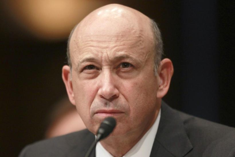 Chairman and CEO of Goldman Sachs Lloyd Blankfein