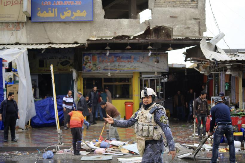 Baghdad Bombing, Feb. 7, 2015