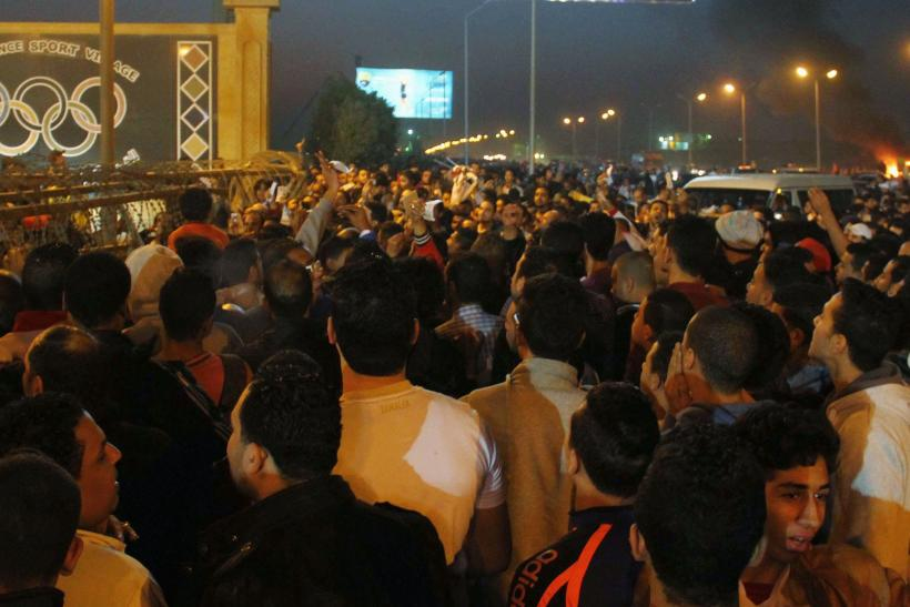 Egypt soccer match clashes