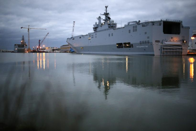 France Russia Warship Deal