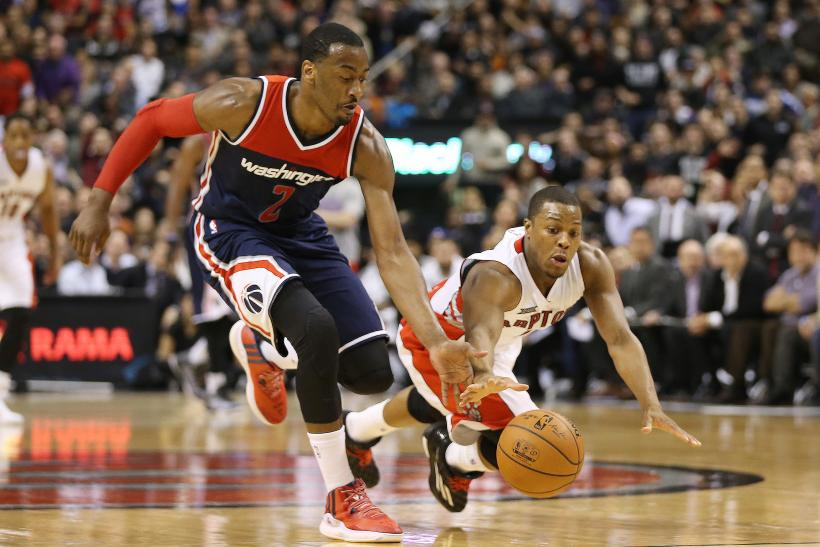John Wall Wizards Kyle Lowry Wizards 2015