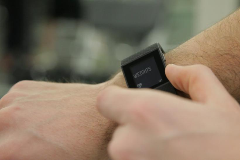 Fitbit Surge weights