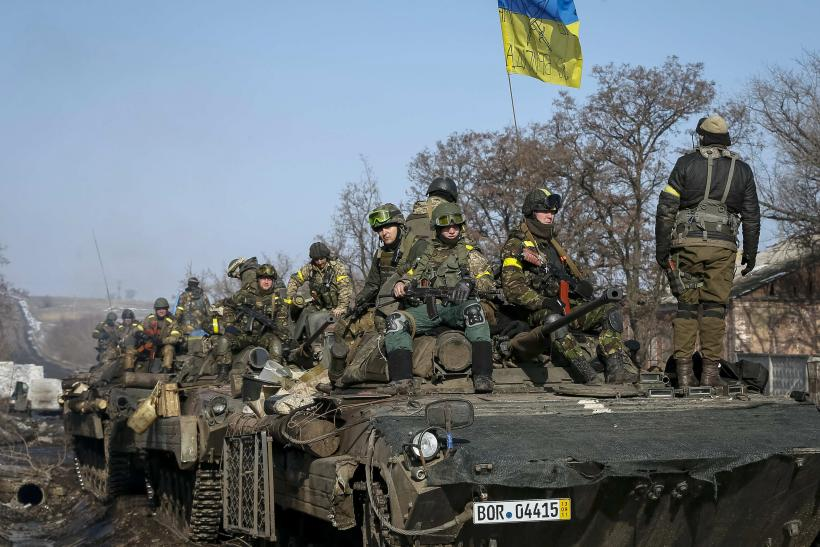Ukraine forces