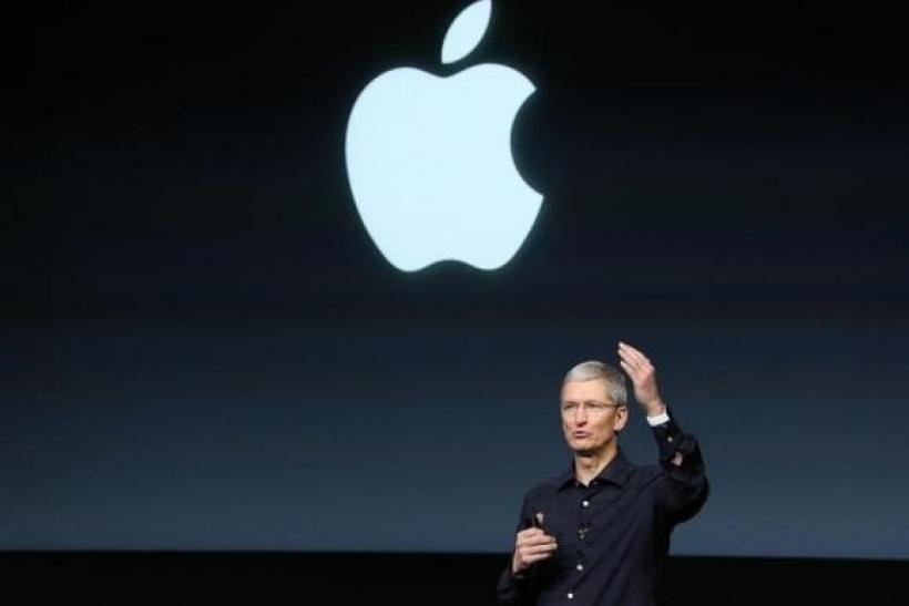 Apple presentation TIm Cook