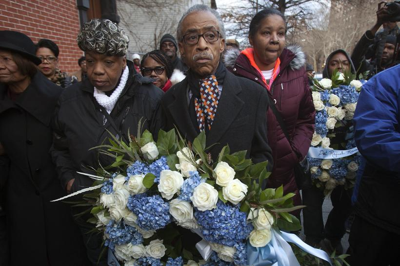 Al Sharpton and Garner Family
