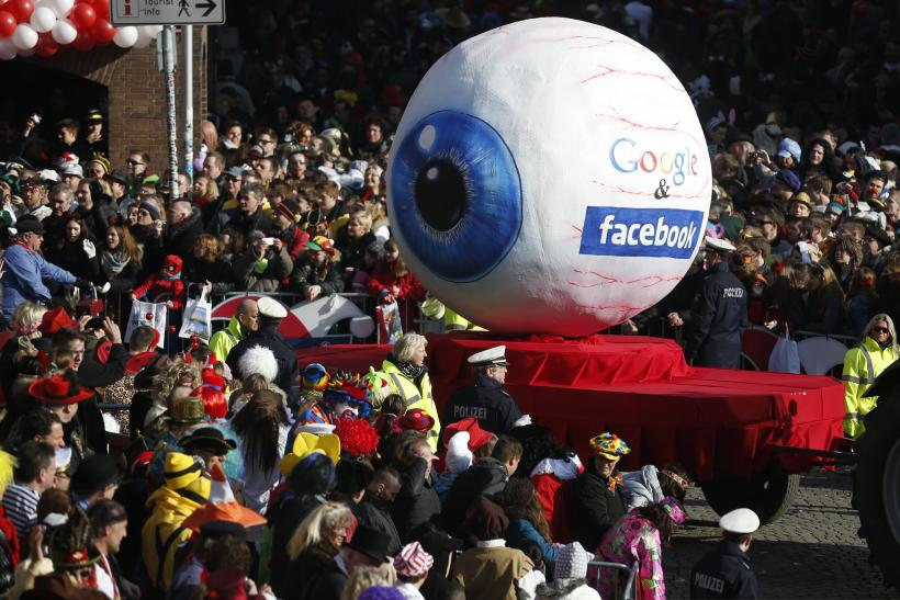 Facebook Google eyeball Germany
