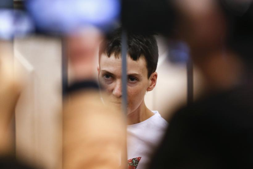 Nadiya Savchenko is on hunger strike in a Russian jail
