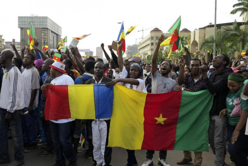 Cameroon protest against Boko Haram