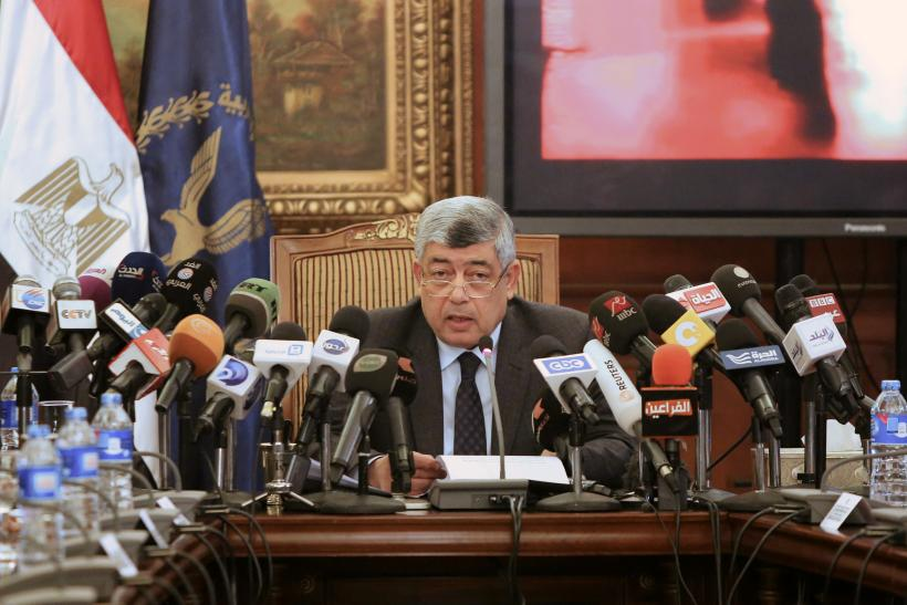 Egyptian ex-Interior Minister Mohamed Ibrahim