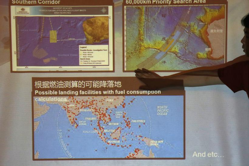 MH370 Route On Map: Where Malaysia Airlines Flight Was Headed And ...