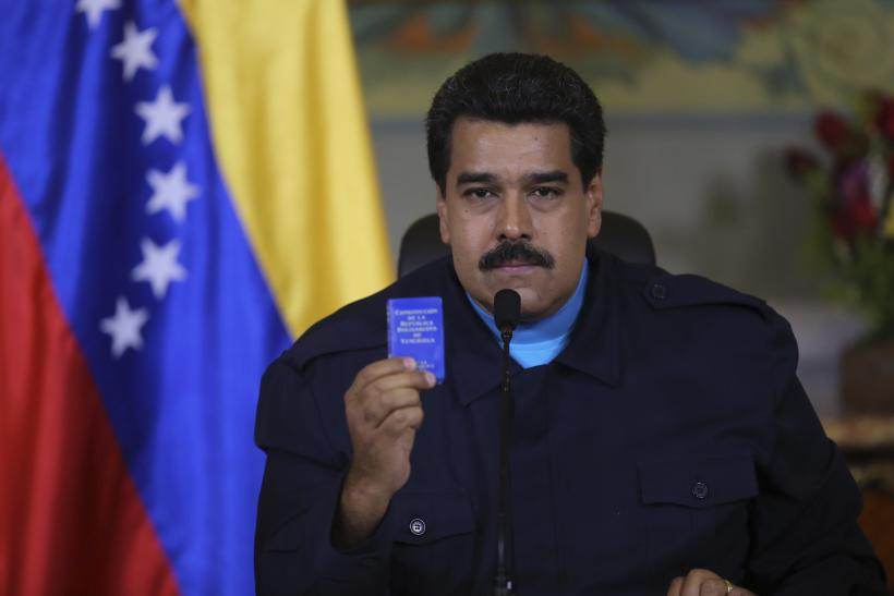 Maduro Sanctions Speech