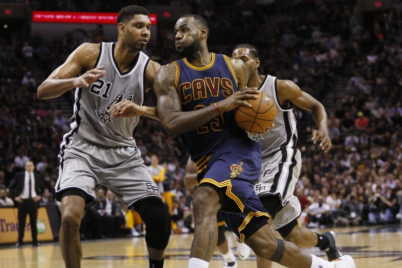 LeBron James Tim Duncan