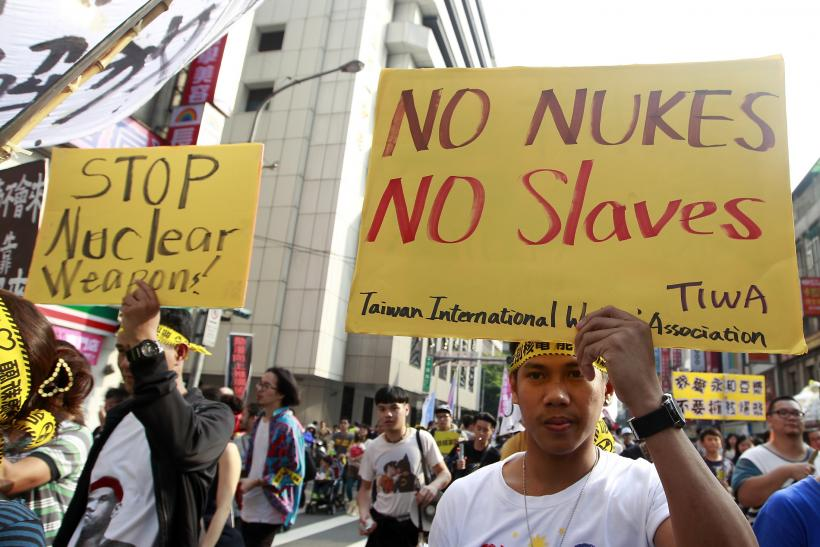 Taiwan protests against nuclear power