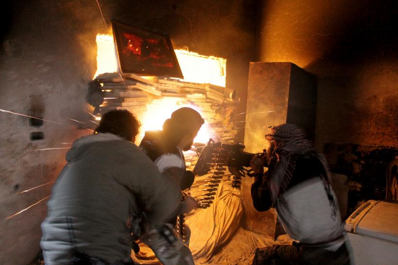 US non-lethal aid Syrian opposition fighters