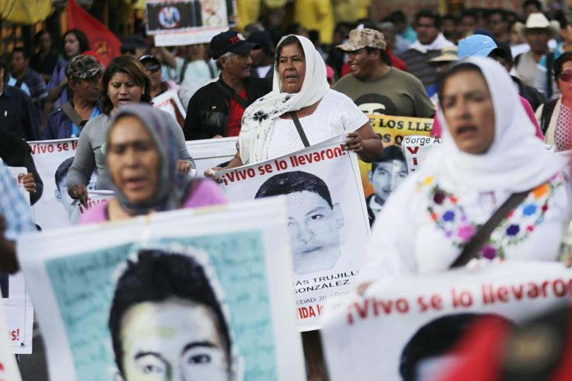 Ayotzinapa Teachers Protest