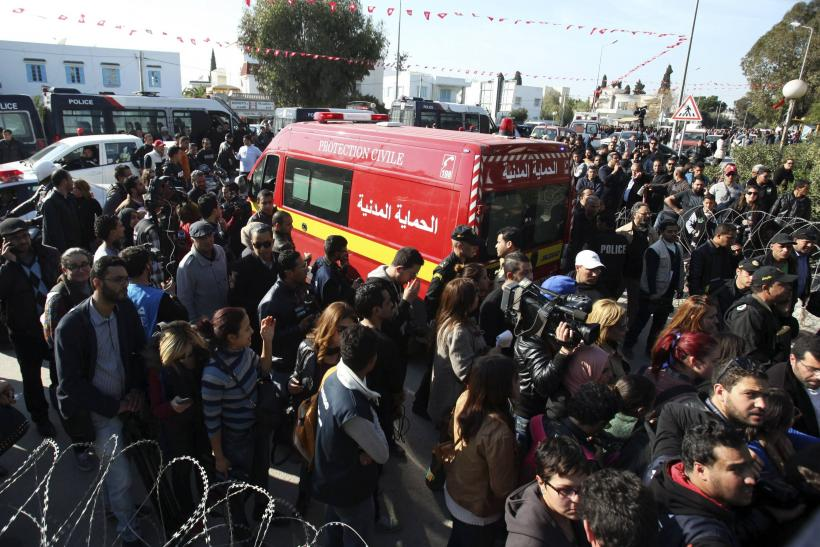Tunisia attack_ambulance