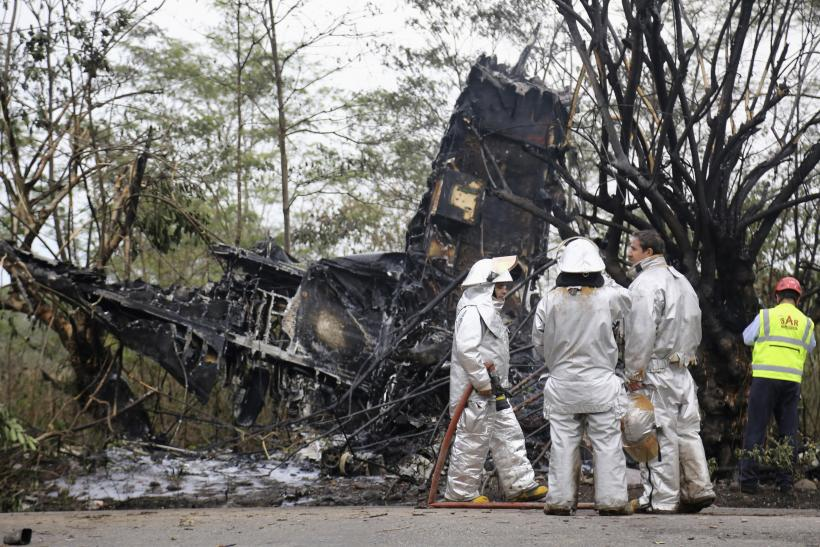 Beechcraft plane crash_Colombia