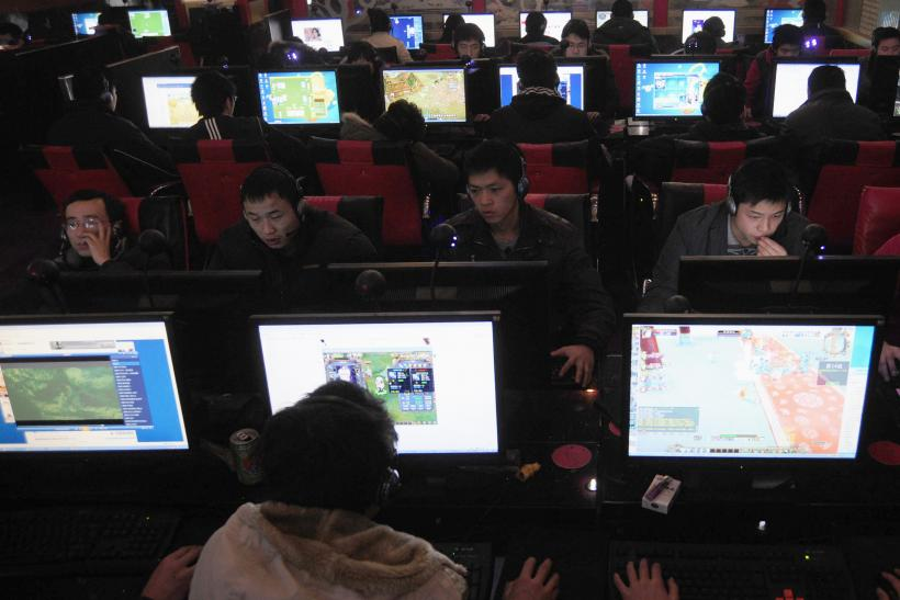 Internet Cafe, Hefei, Anhui, China, Jan. 25, 2010