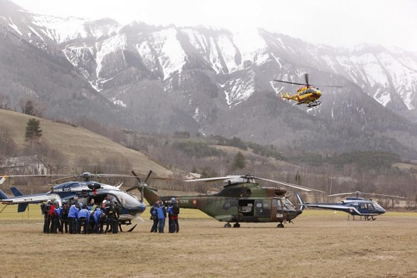 Germanwings crash rescue effort