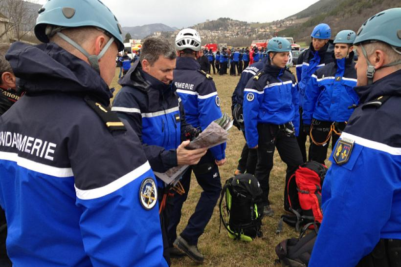 Germanwings crash rescue teams