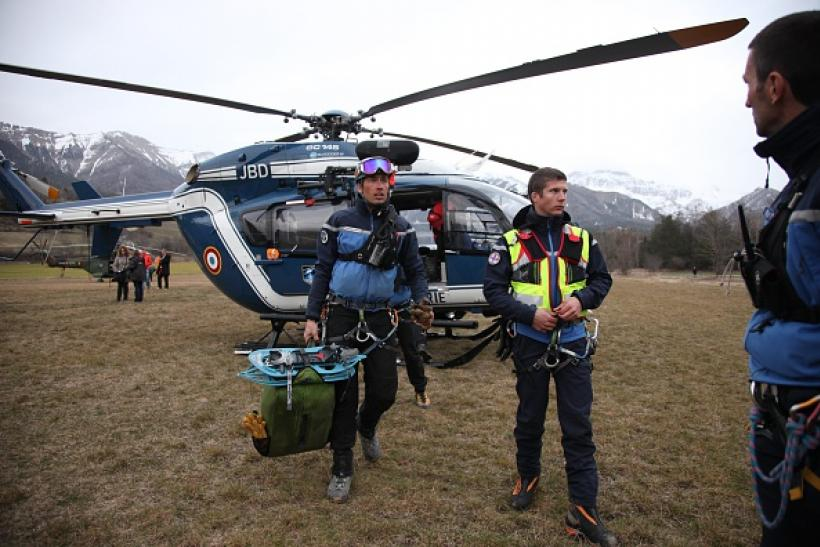 Germanwings crash search effort