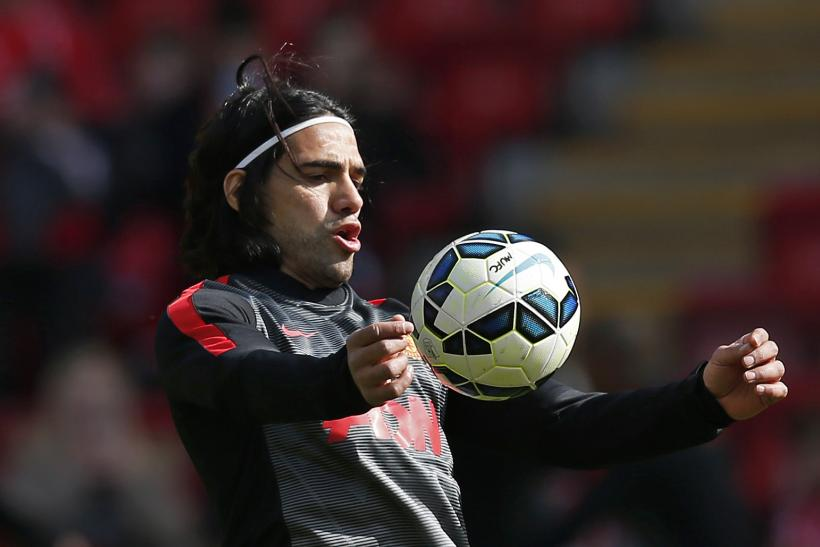 Radamel Falcao Manchester United 2015