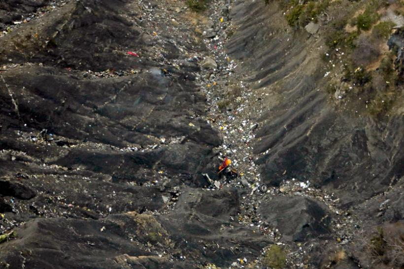 Germanwings crash debris