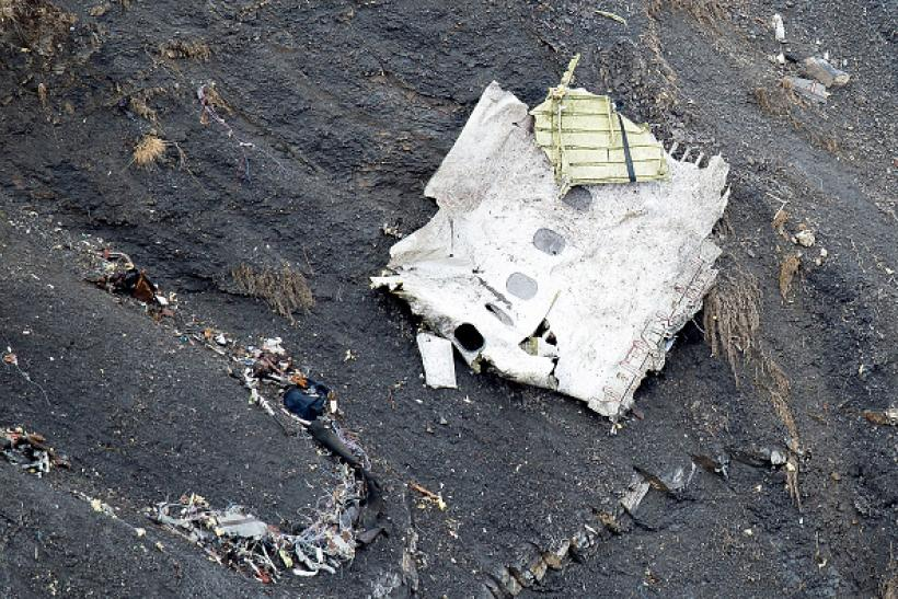 Germanwings plane crash site