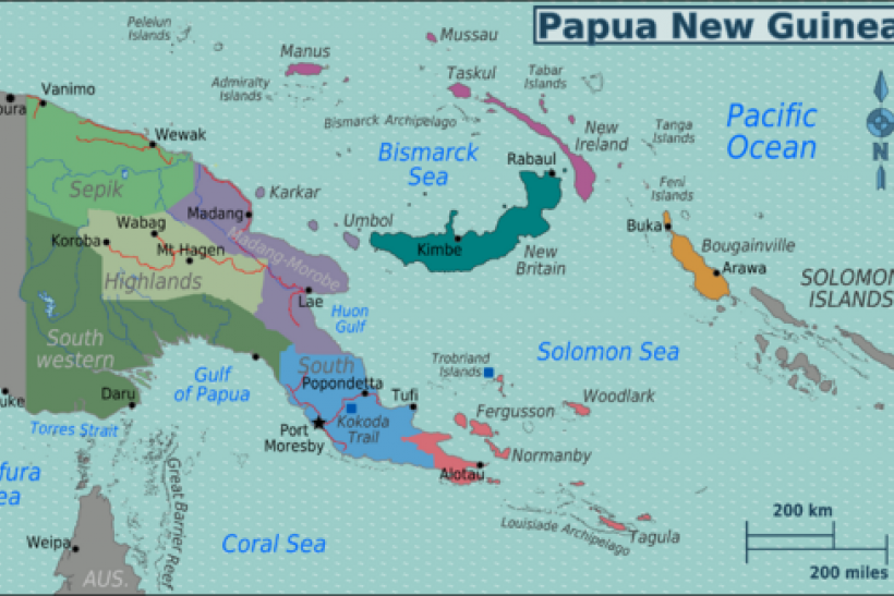 Massive Earthquake Hits Solomon Islands Papua New Guinea